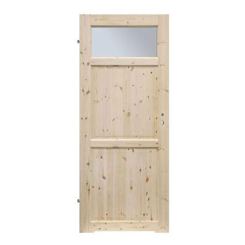 Radex Drzwi z tulejami lugano 60 lewe sosna surowa