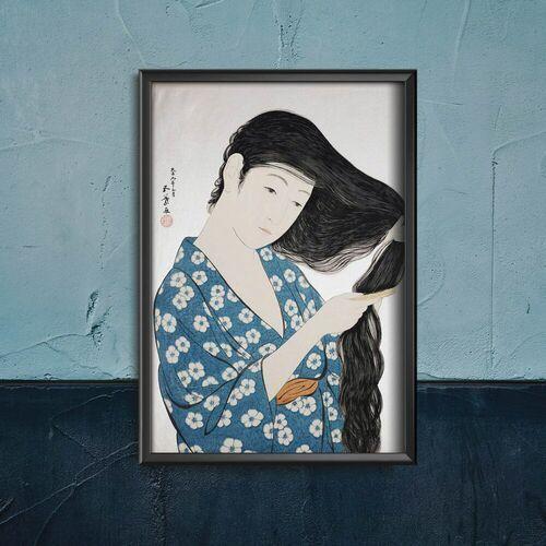 Vintageposteria.pl Plakat w stylu retro plakat w stylu retro wielka fala w kanagawa katsushika hokusai
