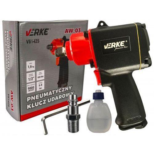 Klucz pneumatyczny udarowy 1/2 680nm krótki marki Verke