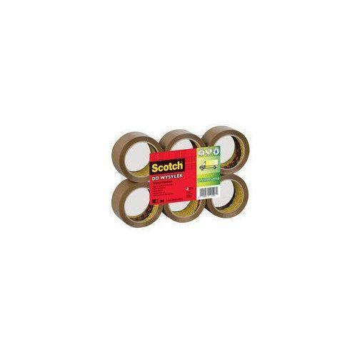 Scotch TAŚMA PAKOWA SCOTCH BRĄZOWA (ZGRZEWKA 6 SZT.) - zakupy dla firm - XX 0048 03811 Darmowy odbiór w 21 miastach! (8000280419105)