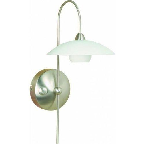 Steinhauer  aleppo lampa ścienna stal nierdzewna, 1-punktowy - nowoczesny - obszar wewnętrzny - aleppo - czas dostawy: od 4-8 dni roboczych (8712746025880)