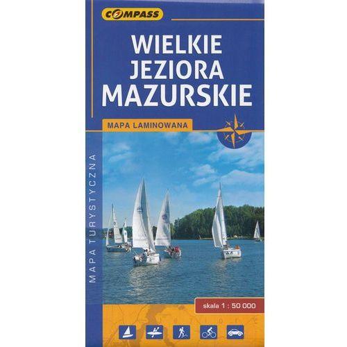 Wielkie Jeziora Mazurskie, 1:50 000 (9788376056609)