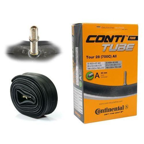 Continental Dętka Tour 28'' ALL wentyl samochodowy 40mm (4019238556926)