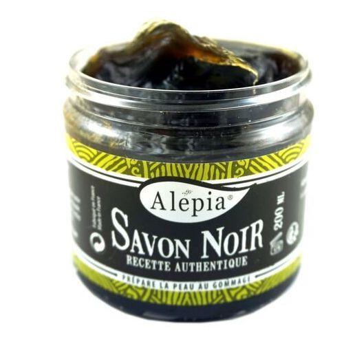 ALEPIA Mydło Czarne peelingujące Savon Noir 200ml (3700479130020)