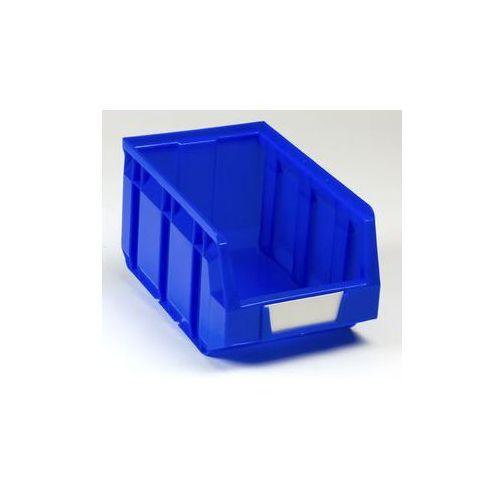 Otwarty pojemnik magazynowy z polietylenu,dł. x szer. x wys. 237 x 144 x 123 mm marki Vipa