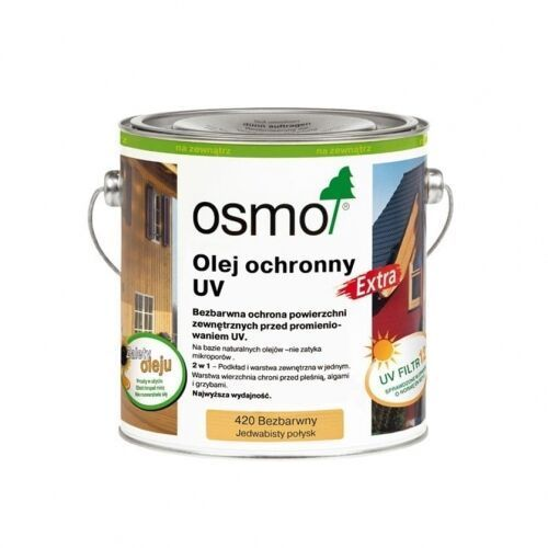 OSMO 420 - Olej Ochronny UV na zewnątrz - 2,5 L