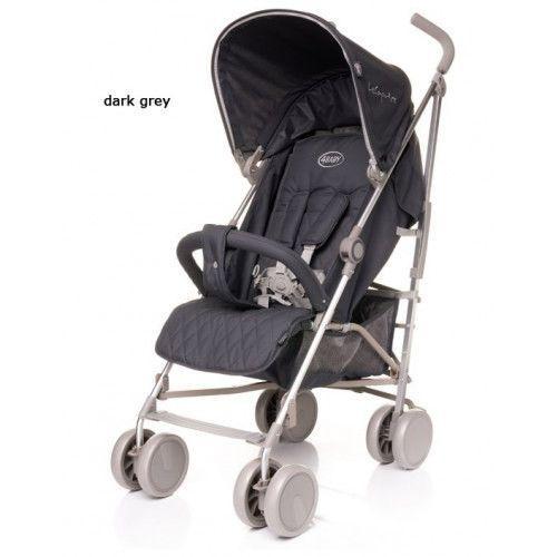 Wózek spacerowy le caprice dark grey marki 4baby