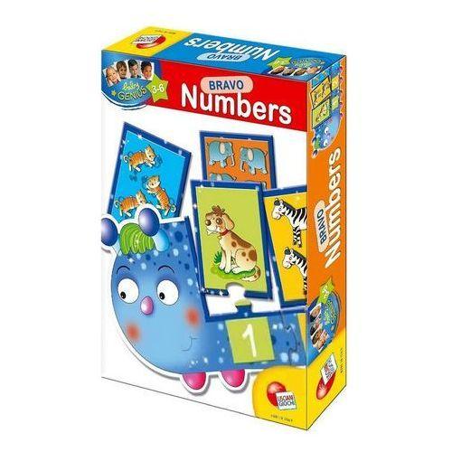 Puzzle edukacyjne mały geniusz bravo numbers marki Liscianigiochi