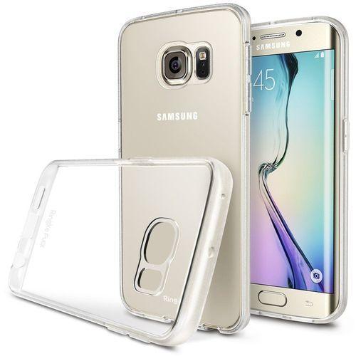 Oryginalne etui obudowa Rearth Ringke Flex Crystal View + folia ochronna na tył dla Samsung Galaxy S6 Edge (8809419557042)
