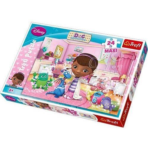 Klinika dla pluszaków puzzle maxi marki Trefl