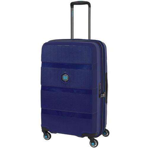 zip2 walizka średnia poszerzana antywłamaniowa 69,5 cm / jazz blue - jazz blue marki Bg berlin
