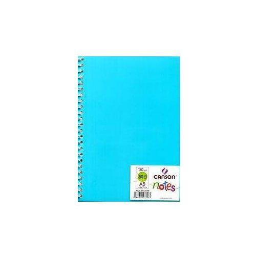Notes z okładką niebieski