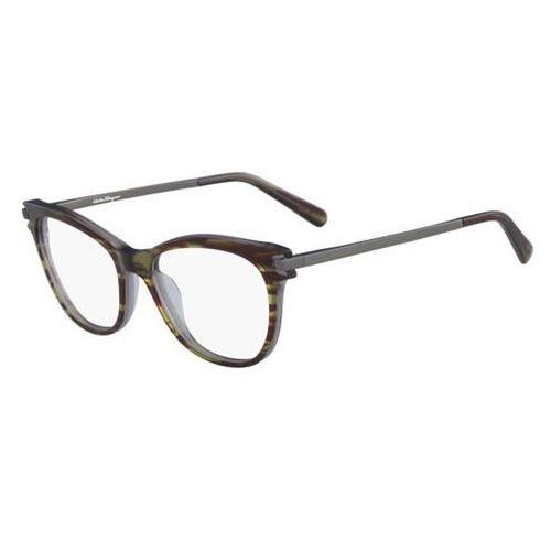 Okulary korekcyjne sf 2763 027 marki Salvatore ferragamo