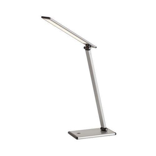 Lampa stołowa lampka biurkowa brooke 1x7w led srebrny 4182 marki Rabalux