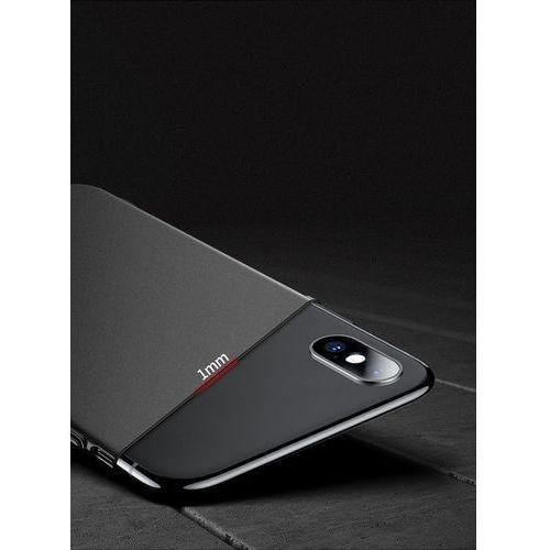 Etui MSVII Slim Case do iPhone XS Max 6.5 Czerwone, 44987 (11033890)