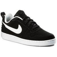 Buty - court borough low 838937 010 black/white marki Nike