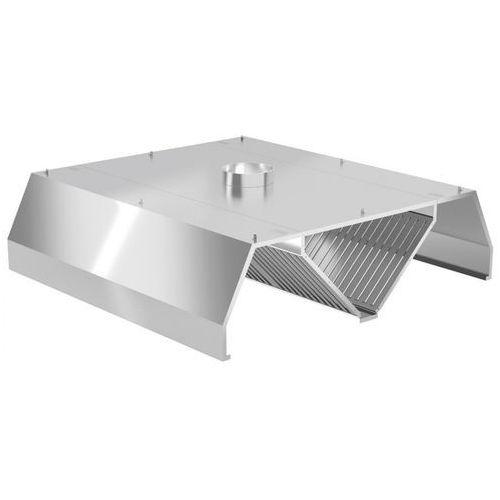 Polgast Okap centralny trapezowy 1000x1400x450 (h)