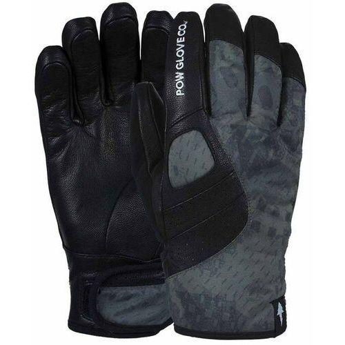 Pow Rękawice snowboardow - vandal glove black (long) (bk) rozmiar: m