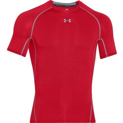 Koszulka termoaktywna  heatgear compression shortsleeve m 1257468-600 marki Under armour