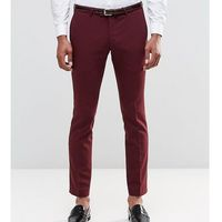 super skinny trousers in cotton sateen - red marki Noose & monkey