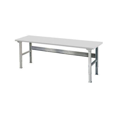 Stół roboczy SOLID, 500 kg, 2000x800 mm, laminat