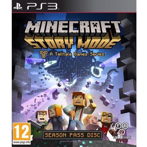 Minecraft Story Mode (PS3) Darmowy transport od 99 zł | Ponad 200 sklepów stacjonarnych | Okazje dnia!