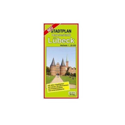 Doktor Barthel Stadtplan Hansestadt Lübeck
