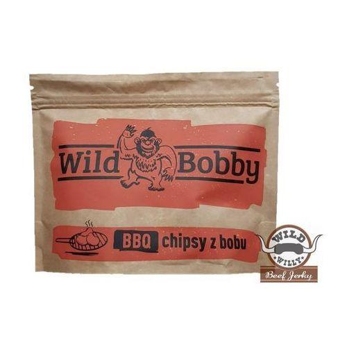 Chipsy z bobu wild bobby 100 g bbq marki Wild willy