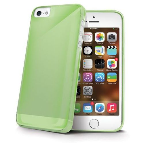 """gelskin185gr apple iphone 5s"" (green) marki Celly"