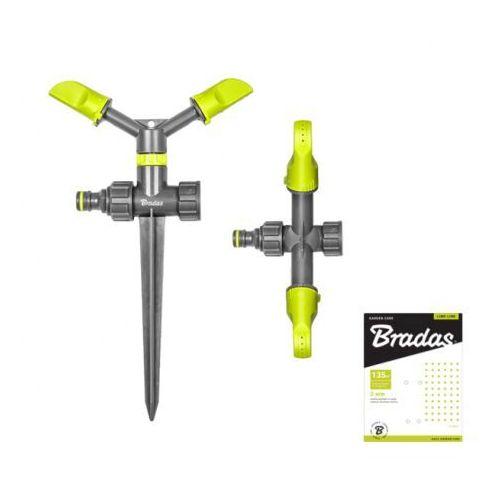 Bradas 2-ramienny zraszacz obrotowy na kolcu lime line le-6101 2136 (5907544422136)