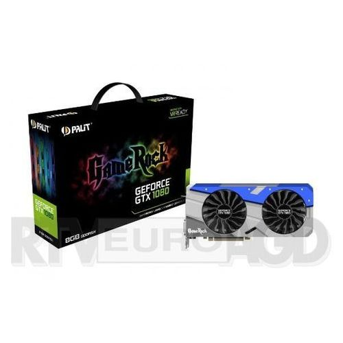 Palit GeForce Cuda GTX 1080 GameRock 8GB DDR5 256bit - produkt w magazynie - szybka wysyłka!