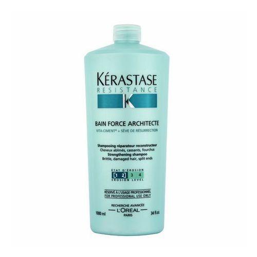 Kérastase résistance bain de force architecte szampon do włosów 1000 ml dla kobiet (3474630382091). Najniższe ceny, najlepsze promocje w sklepach, opinie.