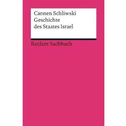 Geschichte des Staates Israel (9783150189641)