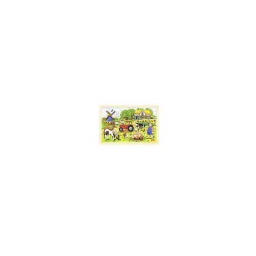 Puzzle, Pan Millers, gospodarstwo, 24 el. (4013594578912)