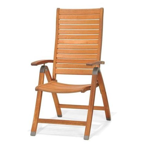 Krzesło składane z podłokietnikami catalina marki Scancom