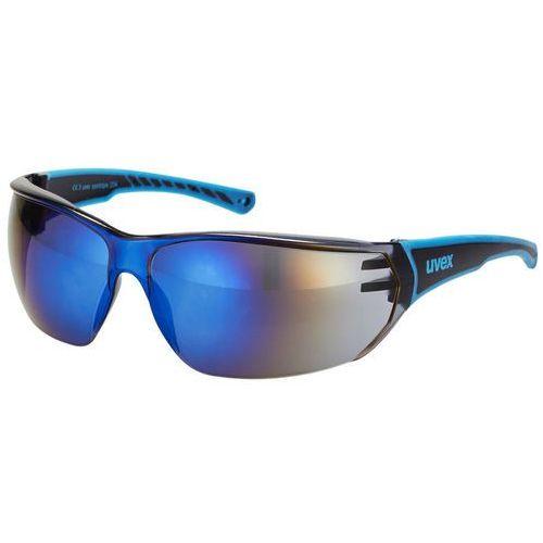 UVEX sportstyle 204 Okulary rowerowe niebieski Okulary