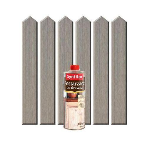 Syntilor Postarzacz do drewna 0.5 l srebrny (3239912414101)