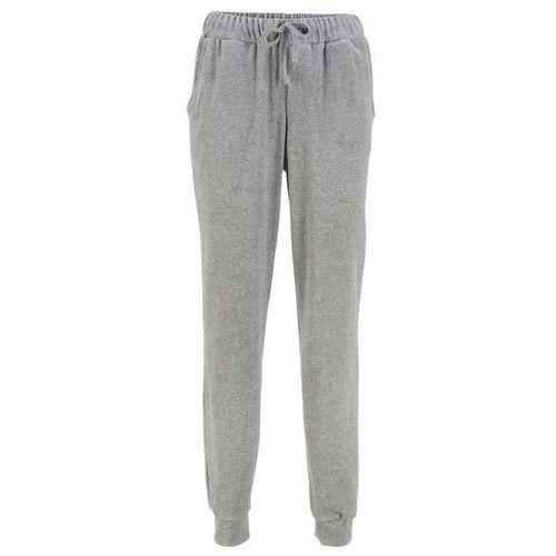 Spodnie ze strukturalnego twillu ze stretchem STRAIGHT bonprix ciemnoróżowy, kolor różowy