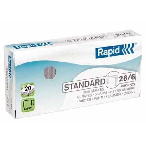 Rapid Zszywki standard 26/6, 5m - 24861800