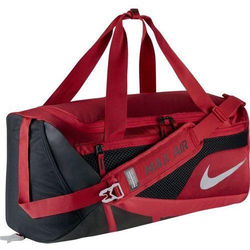 Torba  vapor max air duffel medium - ba5248-657 - gym red/black/metallic silver marki Nike