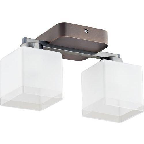 Tklighting Plafon oprawa lampa sufitowa tk lighting toni new 2x60w e27 biały/venge 1792 (5901780517922)