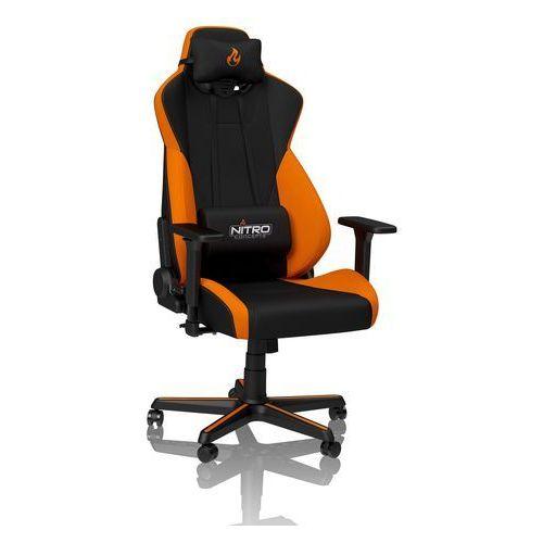 Fotel dla gracza s300 (pomarańczowy) marki Nitro concepts