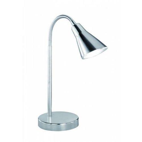 Trio 5283 lampa stołowa LED Nikiel matowy, Chrom, 1-punktowy - Nowoczesny/Dworek - Obszar wewnętrzny - PRETO - Czas dostawy: od 3-6 dni roboczych (4017807244564)