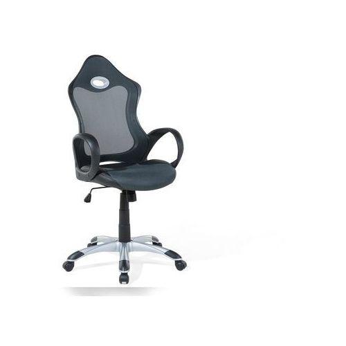 Beliani Krzesło biurowe szaro-zielone - obrotowe - fotel komputerowy - ichair (7105279295959)