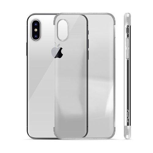 PURO Verge Crystal Cover - Etui iPhone X (srebrny), IPCXVERGESIL