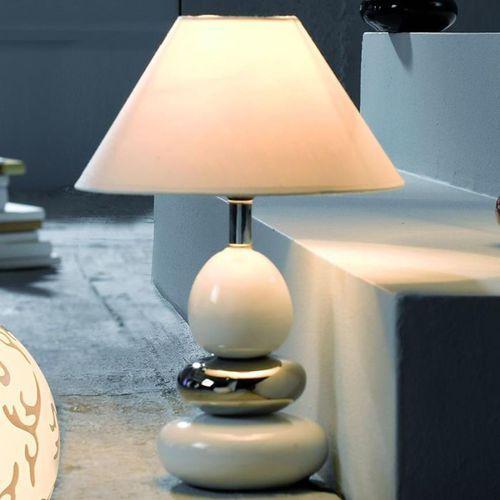Honsel balon lampa stołowa chrom, 1-punktowy - nowoczesny - obszar wewnętrzny - balon - czas dostawy: od 4-8 dni roboczych (4001133574310)