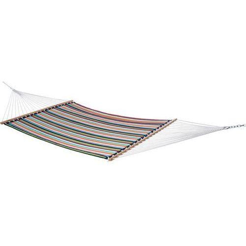 Pikowany hamak Sunbrella z drążkiem dwuosobowy, Kolorowy SUN2