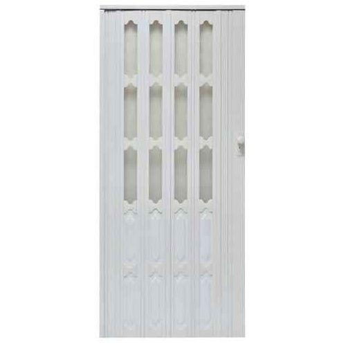 Drzwi Harmonijkowe 007 Biały Dąb Mat 86 cm