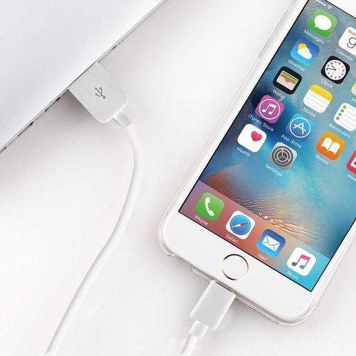 Puro kabel połączeniowy usb apple złącze lightning mfi 0,5m (biały) (8033830158643)
