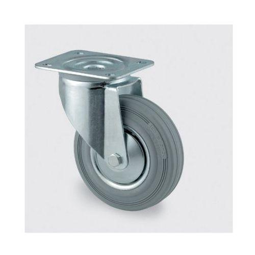 Koła przemysłowe z maksymalnym obciążeniem 70-205 kg, szara guma (4031582303384)
